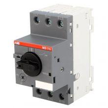 Выключатель автоматический MS116 1,6-2,5А с регулируемой тепловой защитой 50кА ABB