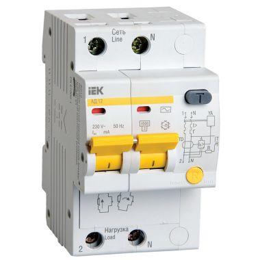 Автомат дифференциальный АД12 2P 32А/30мА 4,5кА C IEK