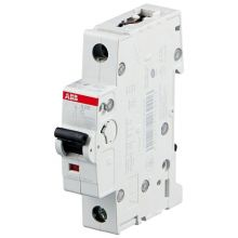 Выключатель автоматический, однополюсный 1P 10А (С) S201 6кА C10 ABB