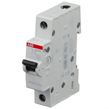 Автоматический выключатель 1-полюсный SH201L C6 (автомат) ABB