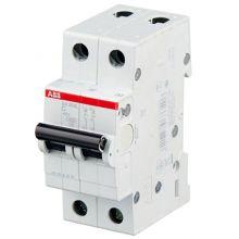 Автоматический выключатель 2-полюсный SH202L C6 ABB