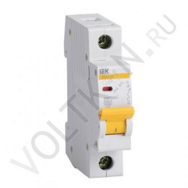 Выключатель автоматический, однополюсный ВА 47-29, 1P 25А (С) 4,5kA IEK