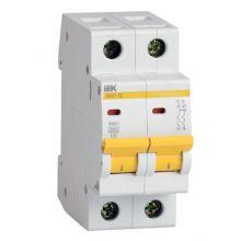Выключатель автоматический, двухполюсный ВА 47-29, 2P 25А (С) 4,5kA IEK
