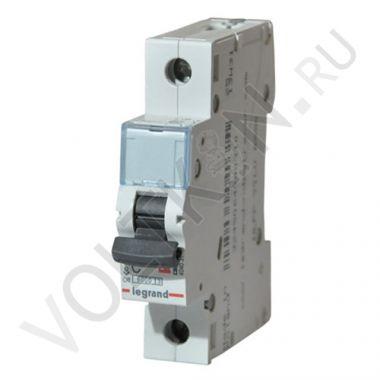 Выключатель автоматический, однополюсный TX3 1P 10А С 6кА Legrand