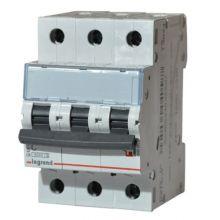Выключатель автоматический, трехполюсный TX3 3P 25А С 6кА Legrand