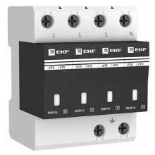 Ограничитель импульсных напряжений ОПВ-D/4P In 5кА 400В EKF PROxima