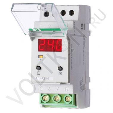 Реле напряжения CP-721-1 63А 1NO Евроавтоматика
