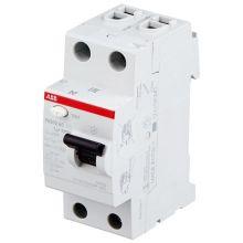Выключатель дифференциального тока (УЗО) 2P 25А 30мА FH202 AC-25/0,03 ABB