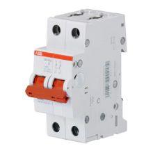 Выключатель нагрузки, двухполюсный SD202 2P 63А ABB