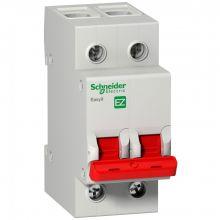 Выключатель нагрузки, двухполюсный Easy9 2P 40А Schneider Electric