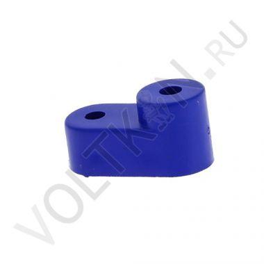 """Изолятор угловой """"Cтойка"""" для нулевой шины, синий EKF PROxima"""