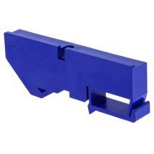 Изолятор на DIN-рейку для нулевой шины, синий EKF PROxima