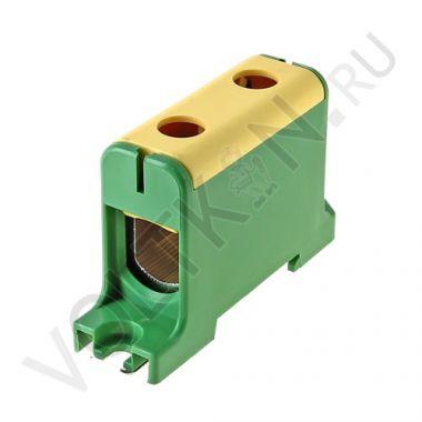 Клемма силовая вводная КСВ 16-95 желто-зеленая EKF PROxima