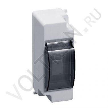 Бокс пластиковый навесной КМПн 1/2 с дверцей EKF PROxima