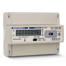Счетчик электроэнергии Энергомера СЕ 300 R31 145 J 3х фазный, 1 тарифный, ЖКИ (5-60А)
