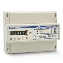 Счетчик электроэнергии Энергомера ЦЭ6803В М7 Р31 3х фазный, 1 тарифный, Эл.мех (1-7,5А)