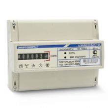 Счетчик электроэнергии Энергомера ЦЭ6803В М7 Р31 3х фазный, 1 тарифный, Эл.мех (10-100А)