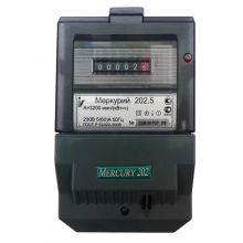 Счетчик электроэнергии Меркурий 202.5 1 фазный, 1 тарифный, Эл.мех (5-60А)