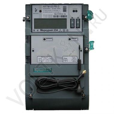 Счетчик электроэнергии Меркурий 234 ARTM-03 PB.G (5-10А)