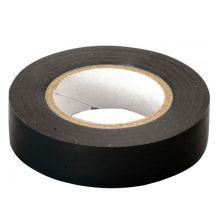 Изолента ПВХ 130х15х18 черная, глянцевая ПолимерПак