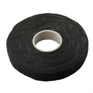 Изолента Х/Б черная 2 сторонняя (300 гр.) ПолимерПласт