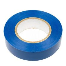 Изолента ПВХ 130х15х18 синяя, глянцевая ПолимерПак