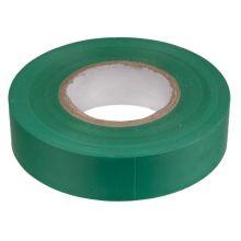 Изолента ПВХ 130х15х18 зеленая, глянцевая ПолимерПак