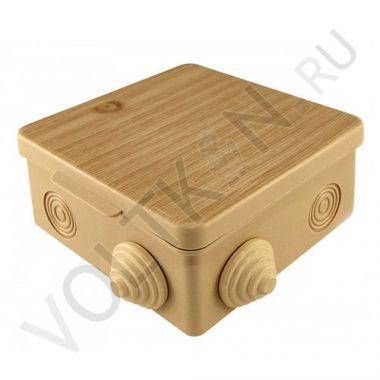 Коробка распределительная о/у, сосна, 100х100х55 TDM