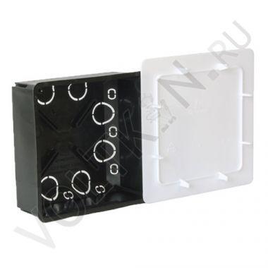 Коробка распределительная с/у 100х100х45мм для сплошных стен Промрукав
