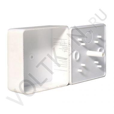 Коробка распределительная для к/к белая 75х75х30мм Промрукав