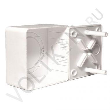 Коробка распределительная для к/к белая 85х85х45мм Промрукав