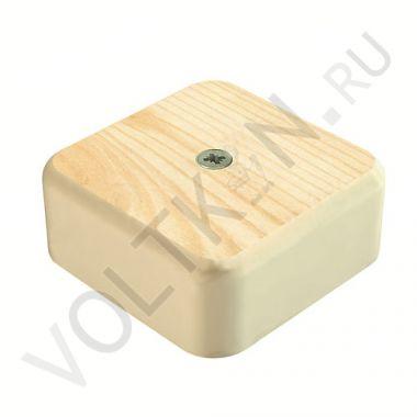 Коробка распределительная для к/к сосна 50х50х20мм GreenEl