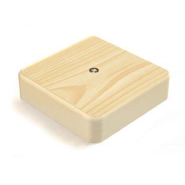 Коробка распределительная для к/к сосна 75х75х20мм GreenEl
