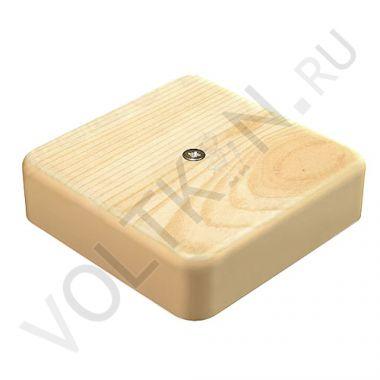 Коробка распределительная для к/к сосна 100х100х29мм GreenEl