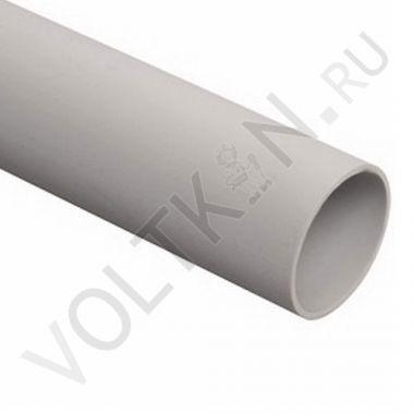 Труба жесткая ПВХ 63 мм 3-х метровая легкая Промрукав