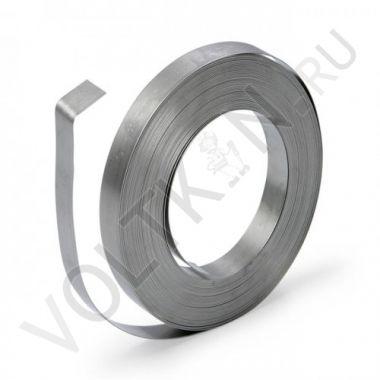 Лента жесть оцинкованная цельная в рулоне 0,35х20мм 2 кг.