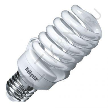 Лампа энергосберегающая 20Вт NCL-SF10 Е27 2700К Navigator