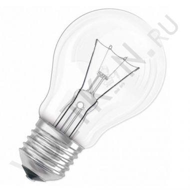 Лампа накаливания 60Вт Е27 230В прозрачный Лисма