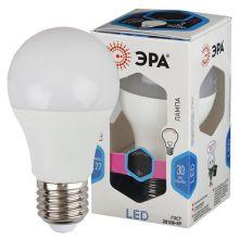 Лампа светодиодная LED 11W E27 А60 4000К Эра