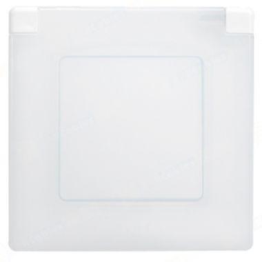 Рамка Etika с крышкой IP44 белая Legrand
