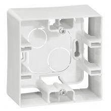 Коробка Etika 1 пост для накладного монтажа, белый Legrand