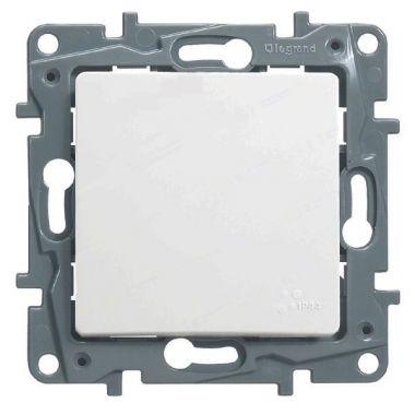 Кнопка Etika 6А, белый Legrand