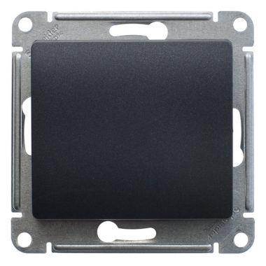 Перекрестный переключатель 10А механизм Glossa, антрацит Schneider Electric