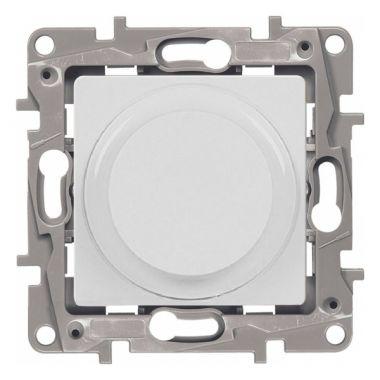 Светорегулятор поворотный Etika 300W без нейтрали, белый Legrand