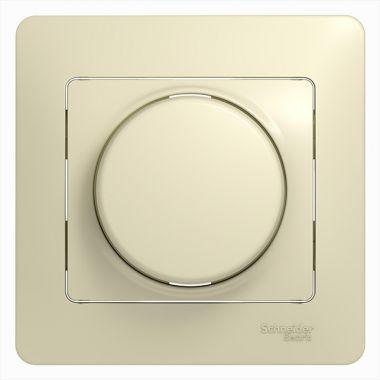 Светорегулятор (диммер) LED, RC, 630Вт/ВА в сборе Glossa, бежевый Schneider Electric