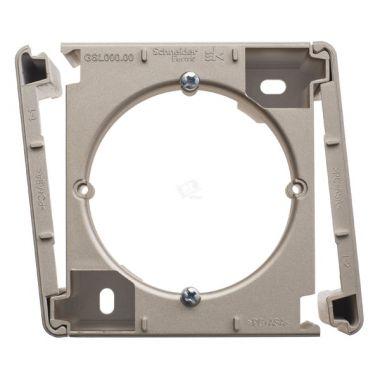 Коробка наружного монтажа Glossa, титан Schneider Electric