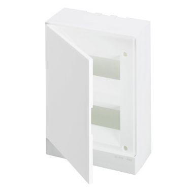 Бокс настенный 16М белая непрозрачная дверь (с клеммами) Basic E ABB
