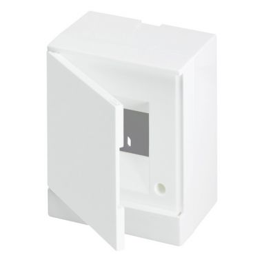 Бокс настенный 4М белая непрозрачная дверь (с клеммами) Basic E ABB