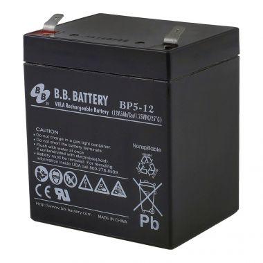 Аккумуляторная батарея BB Battery BP5-12 (12V / 5Ah)