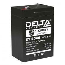 Аккумуляторная батарея Delta DT 6045 (6V / 4.5Ah)